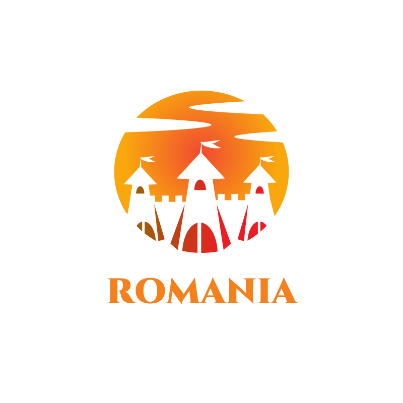 Romanian Castle Logo
