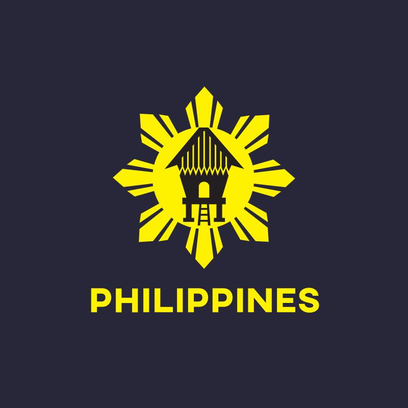 Philippines Sun House Logo