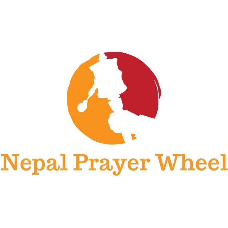 Nepalese Prayer Wheel Logo