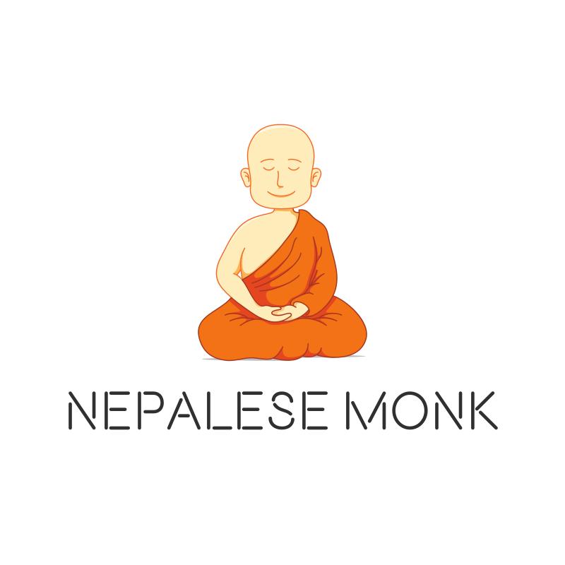 Nepalese Monk Logo