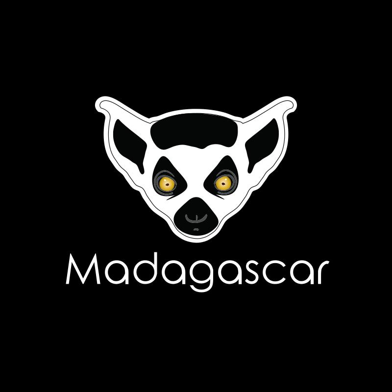 Madagascar Lemur Logo