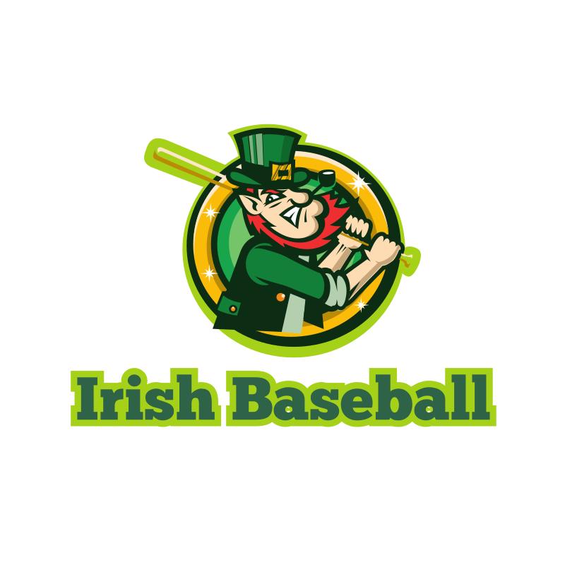 Irish Baseball Logo