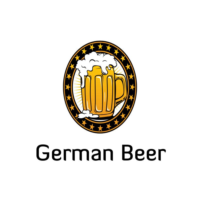 German Beer Logo