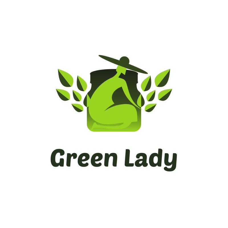 Green Lady Logo
