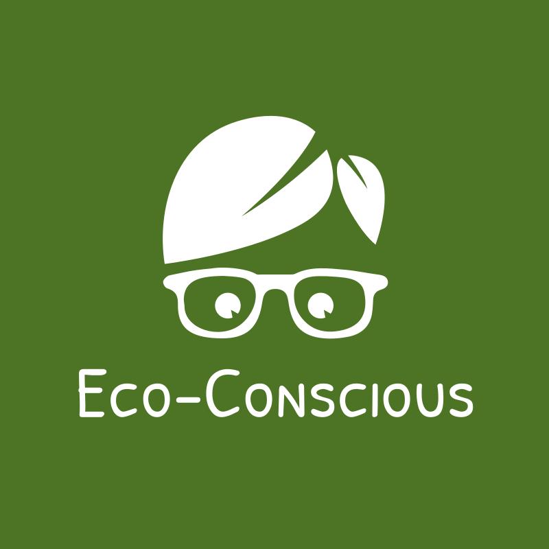 Eco-Conscious Leaves Hair logo
