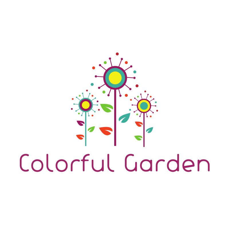 Colorful Garden Logo