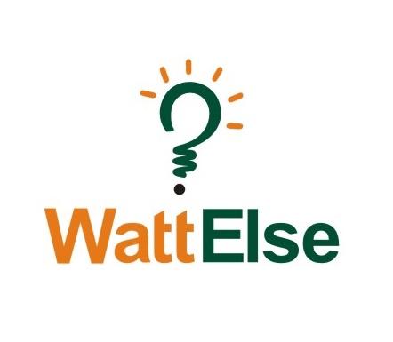 WattElse Bulb Logo Design by Logocraft