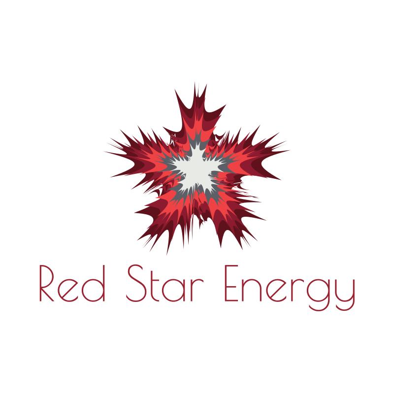 Red Star Energy Logo Design