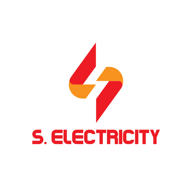 S Electricity Logo Design