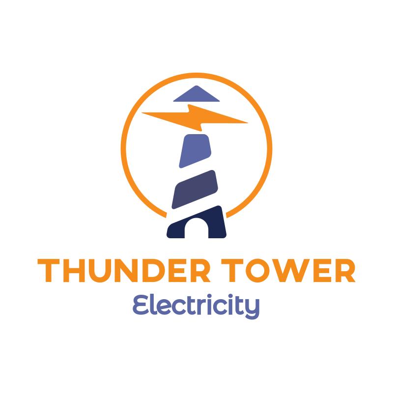 Thunder Tower Logo Design