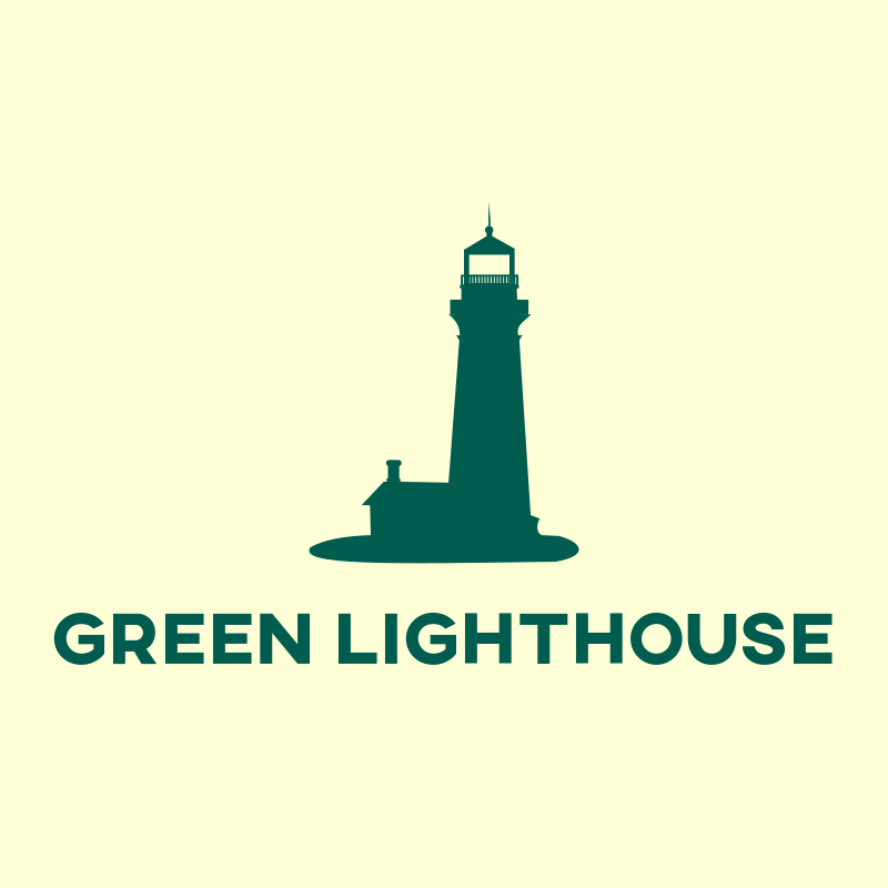 Green Lighthouse Consulting Logo Design