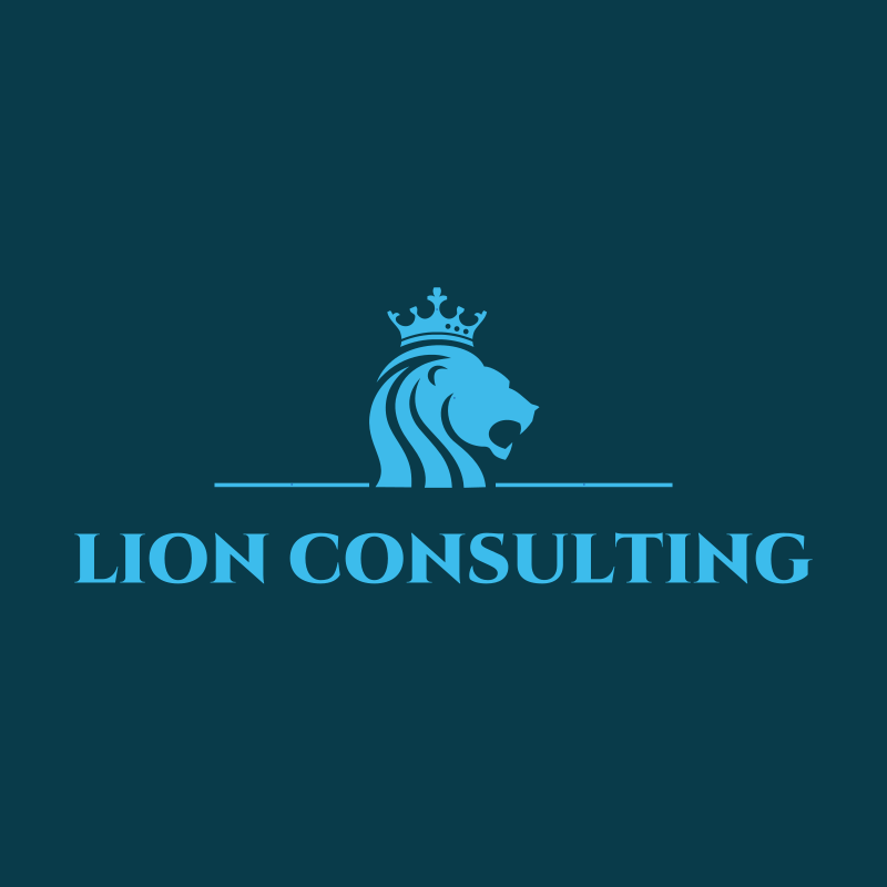 Lion Consulting Logo Design