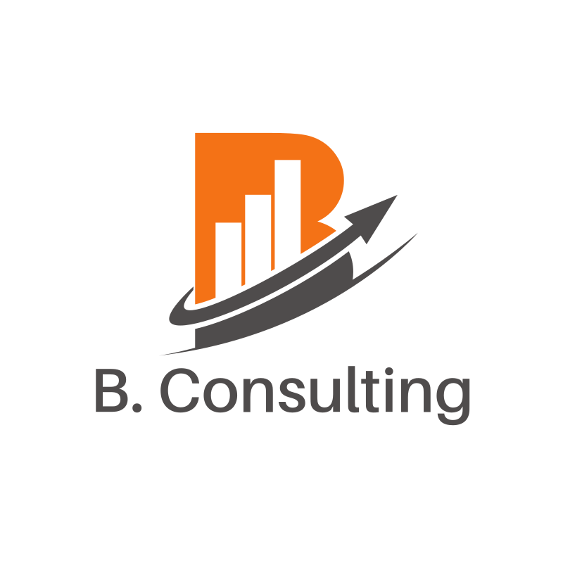B. Consulting Square Logo Design