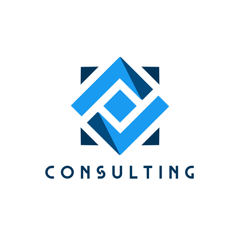Blue Square Consulting Logo Design