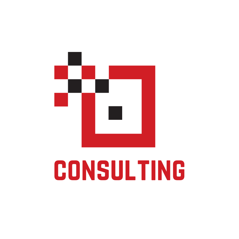 Red Square Consulting Logo Design