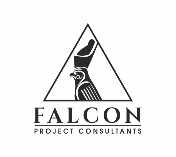 Triangle Logo Design for Falcon Project Consultants by Lee