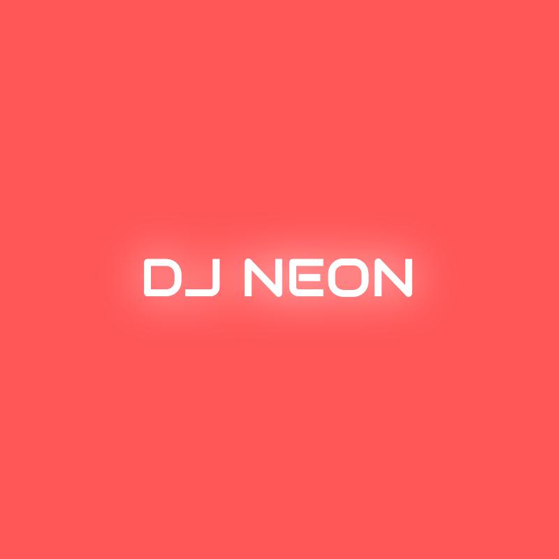 DJ Neon Logo Design