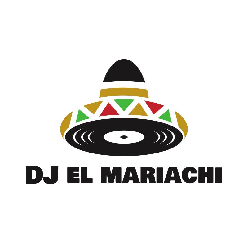 Vinyl and Sombrero Logo Design