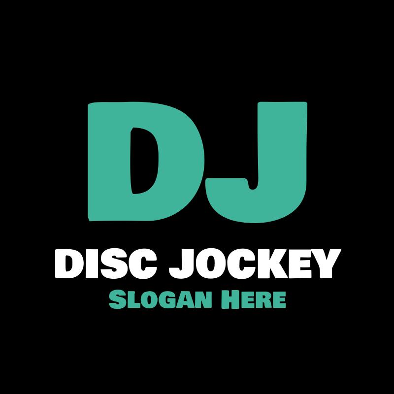 DJ Disc Jockey Logo Design