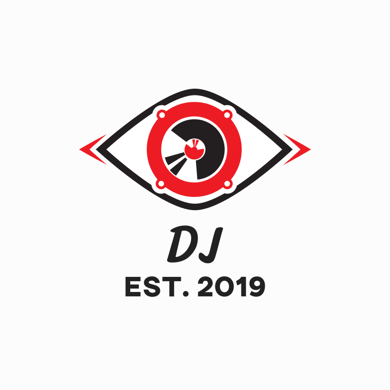 Audio Speaker DJ Logo Design