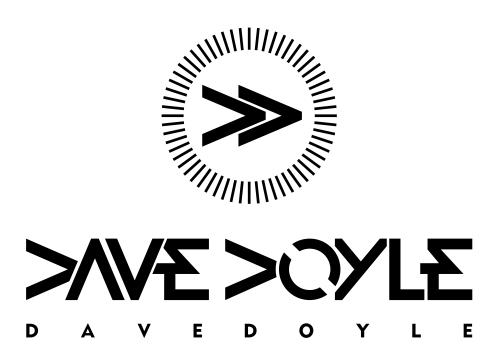Dave Doyle DJ Logo Design by moisesf