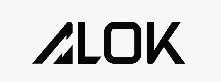 Alok Logo Design