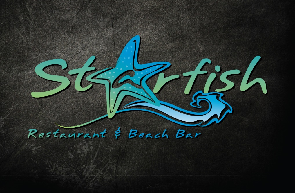Starfish Restaurant and Beach Bar Logo Design