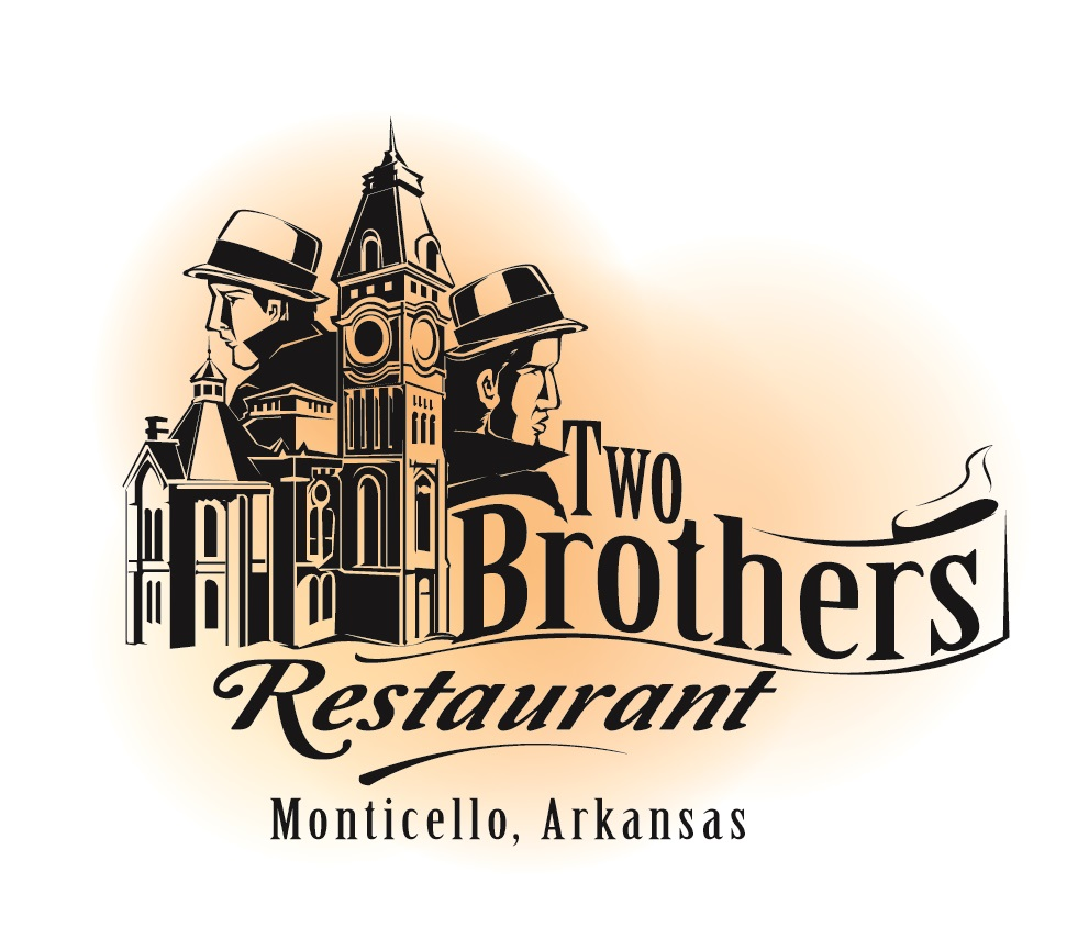 Two Brothers Restaurant Logo Design by Graphicsexpert