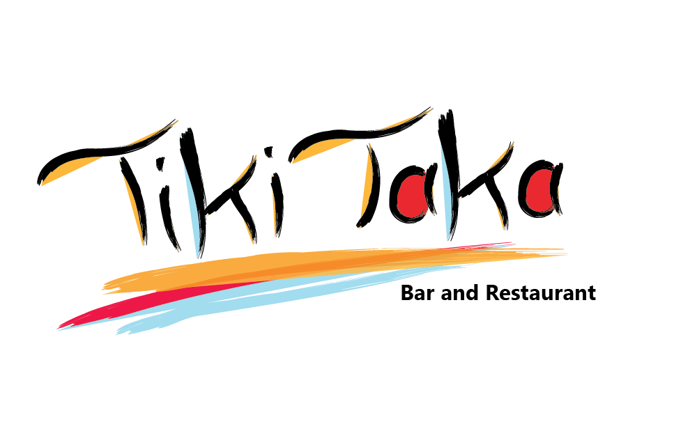 Bright Tiki Taka Bar Logo Design by Michael Muyunda
