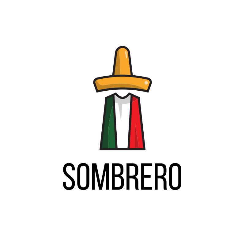 Mexican Sombrero Restaurant Logo Design by Mat21