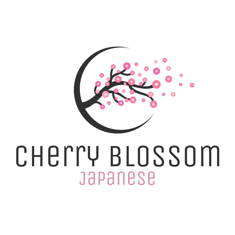 Cherry Blossom Restaurant Logo Design