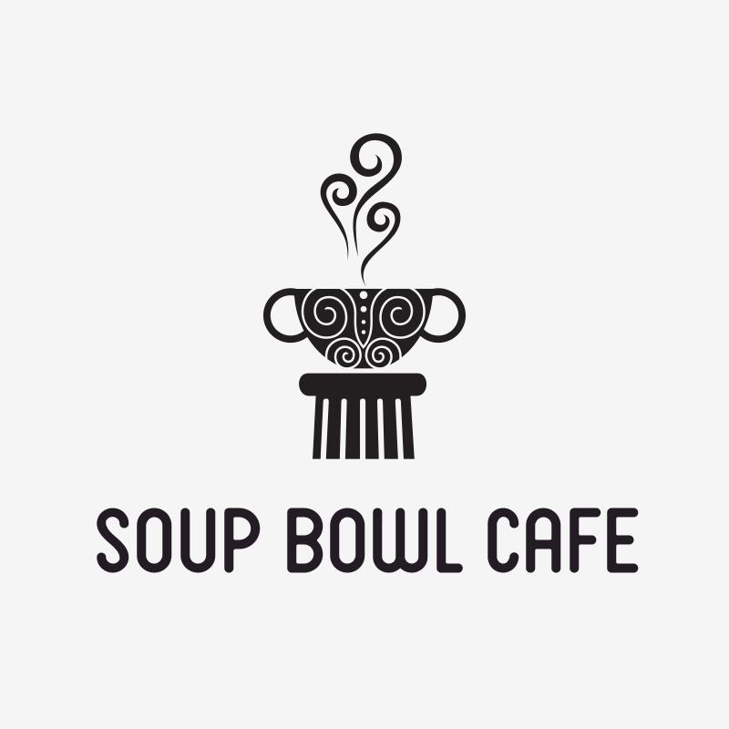 Soup Bowl Café Logo Design