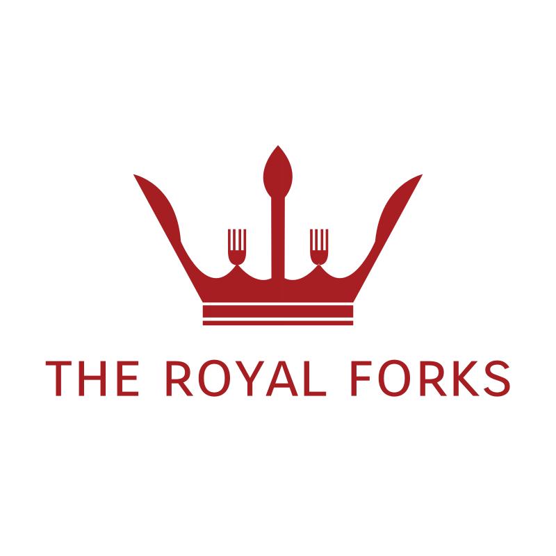 The Royal Forks Logo Design