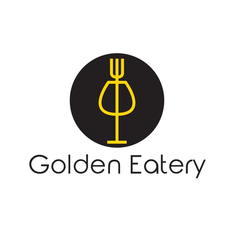 Golden Eatery Logo Design