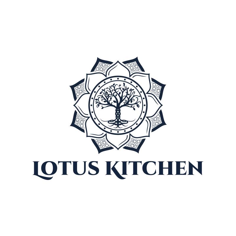 Lotus Kitchen Logo Design