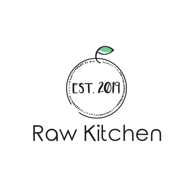 Raw Kitchen Logo Design