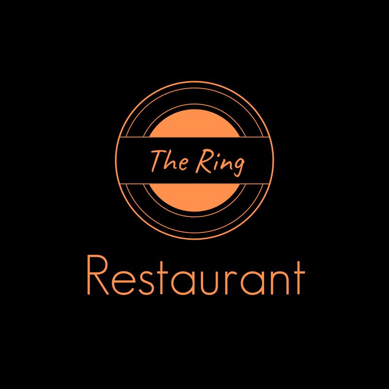 The Ring Restaurant Logo Design