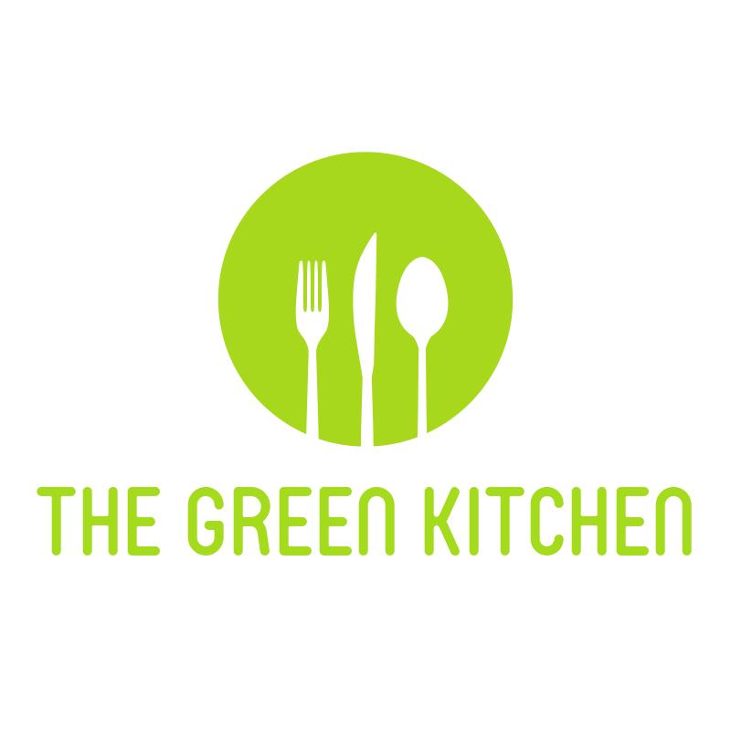 The Green Kitchen Logo Design