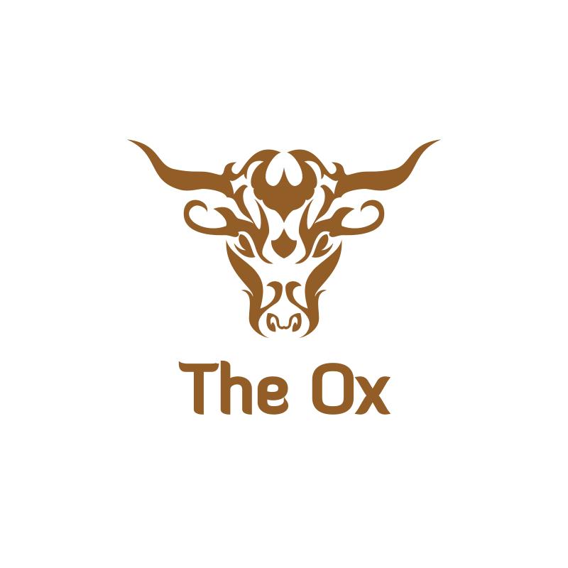 The Ox Logo Design