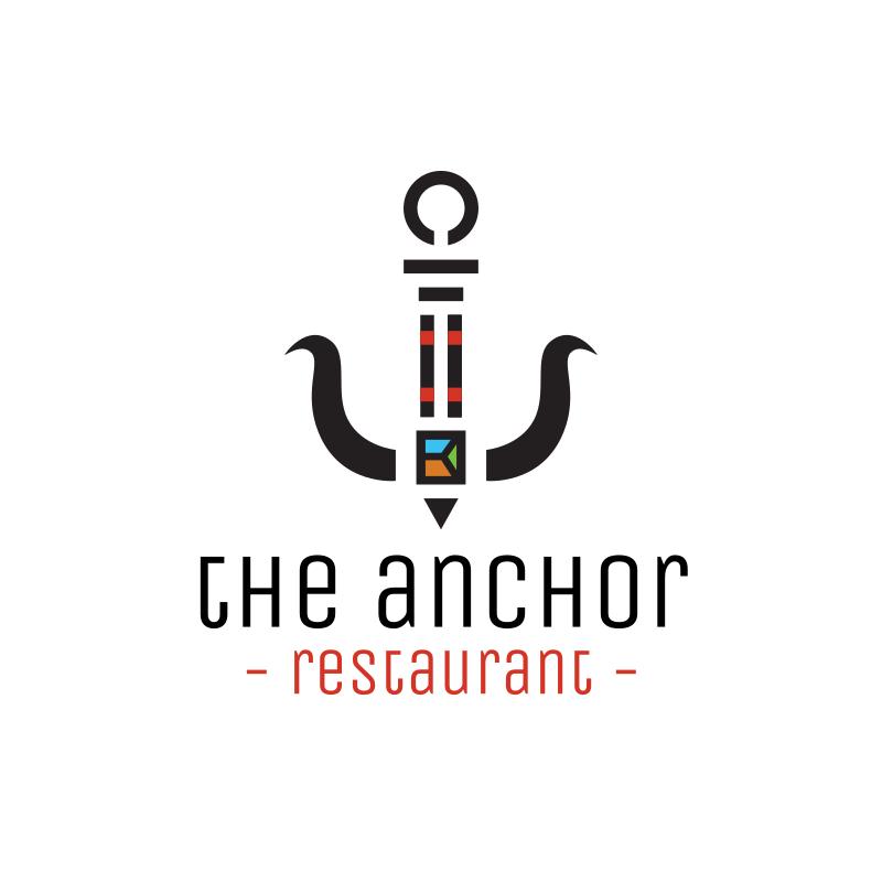 The Anchor Logo Design