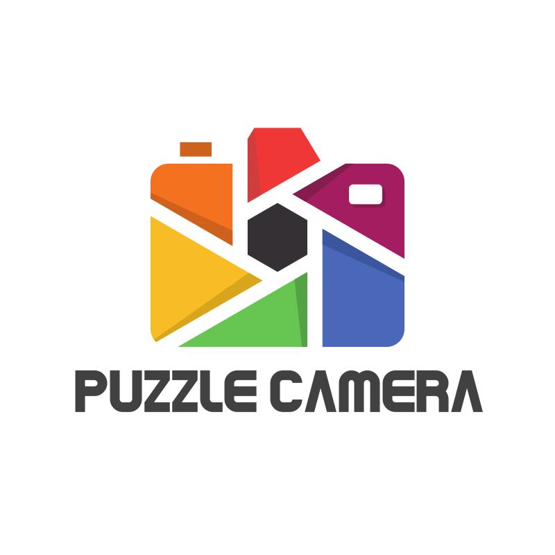 Puzzle Camera Logo Design