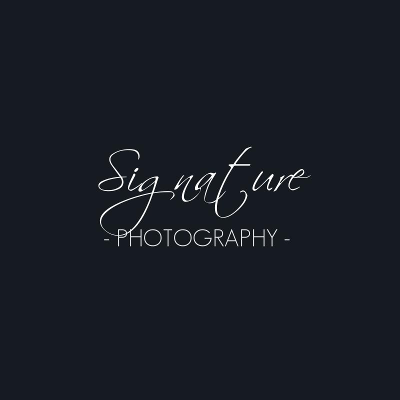 Signature Photography Logo Design