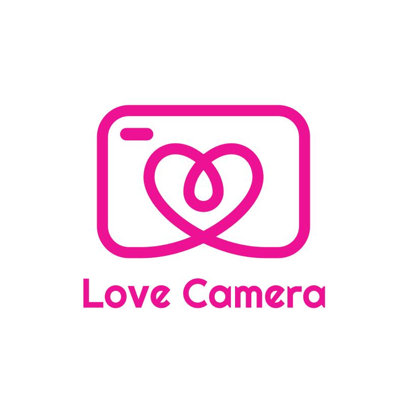Love Camera Logo Design