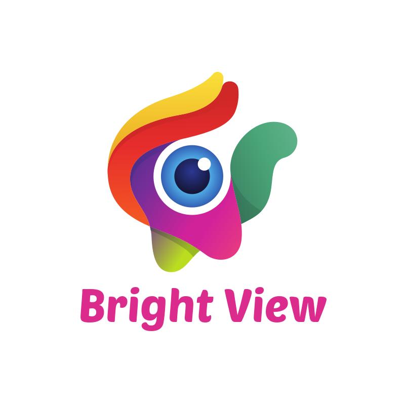 Bright View Logo Design