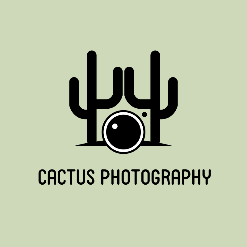 Cactus Photography Logo Design