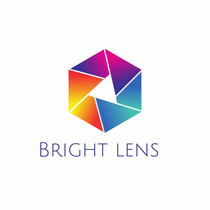 Bright Lens Logo Design