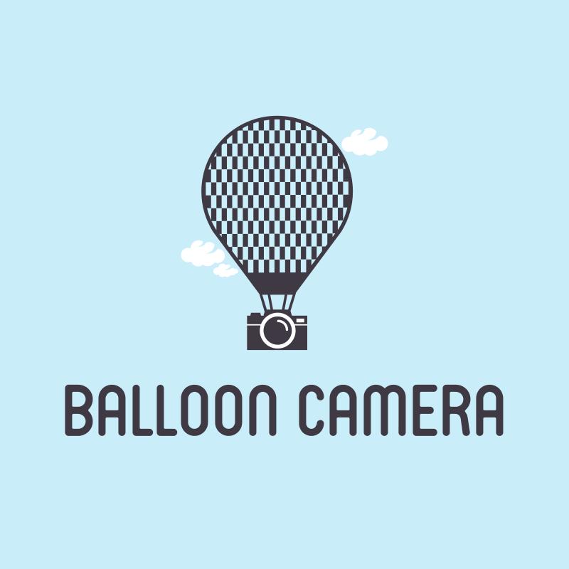 Balloon Camera Logo Design
