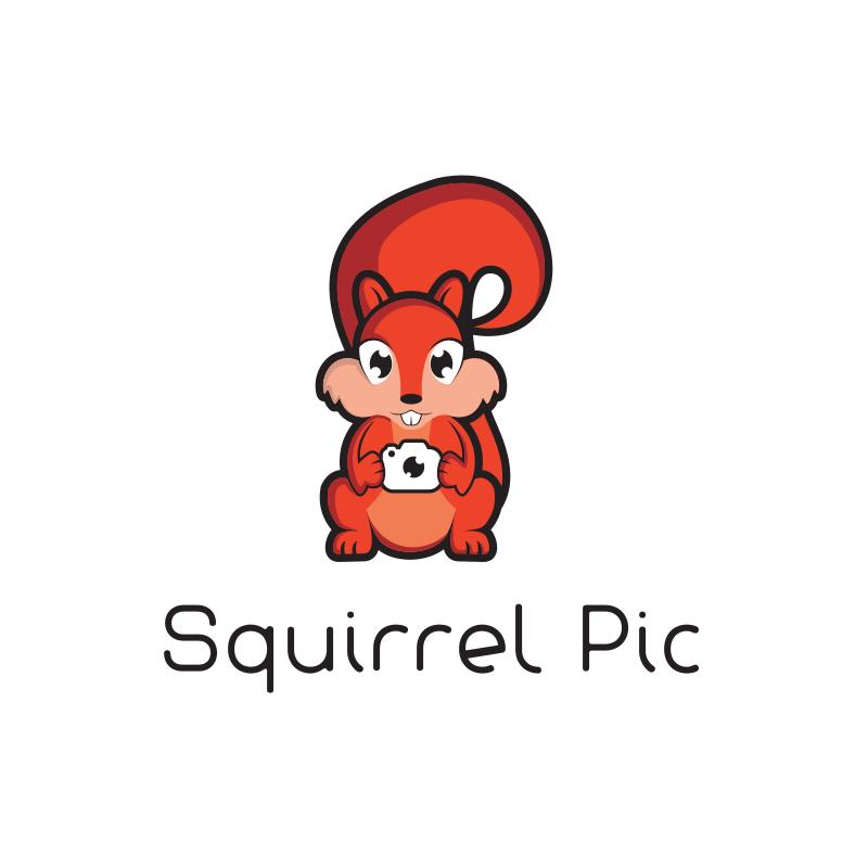 Squirrel Pic Logo Design