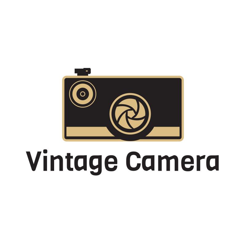 Vintage Camera Logo Design