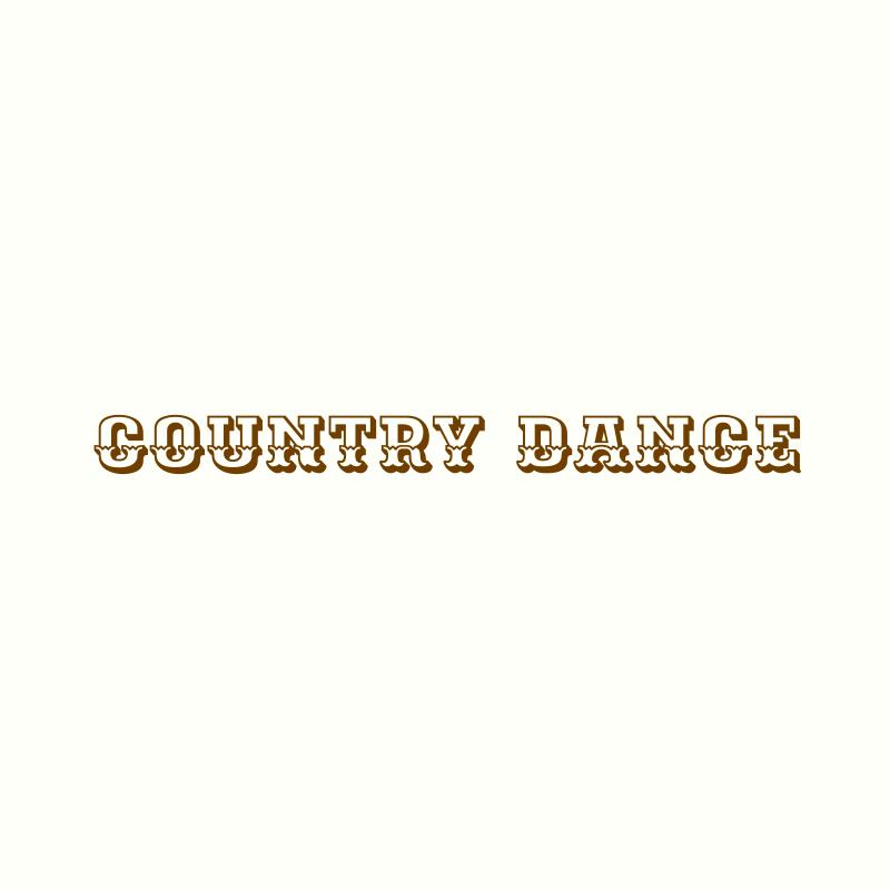 Country Dance Logo Design